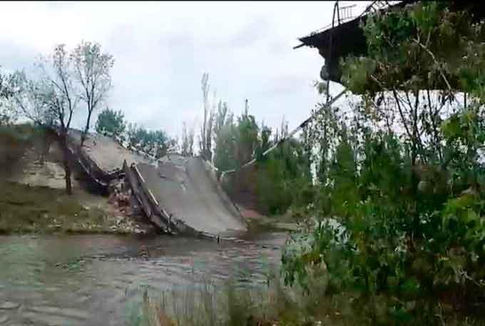 У Шаулисі на Тальнівщині відремонтують міст
