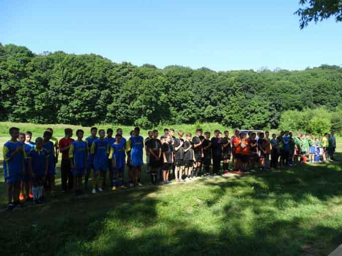 В Ірклієві пройшов турнір по футболу присвячений Дню Конституції