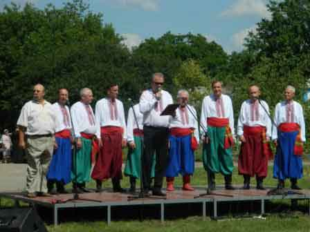 На Шполянщині відбувся фестиваль «Товмацький курінь»