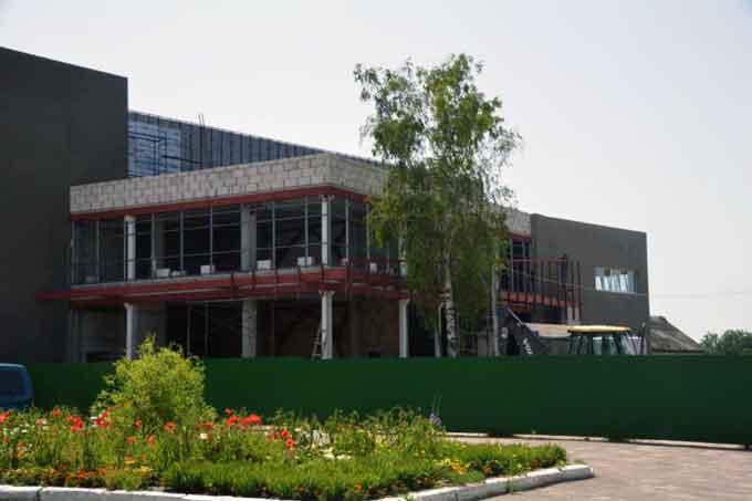 Коротко про будівництво Білозірської сільської академії футболу