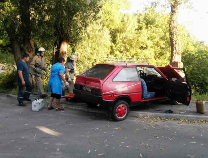 У Кам'янці в ДТП постраждали три особи (фото)