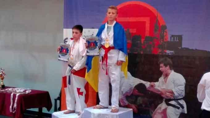 8-класник з Канева став чемпіоном Європи з годзюрю карате