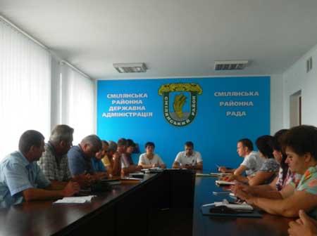 В Смілянському районі створено районне відділення Всеукраїнської асоціації сільських та селищних рад