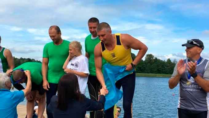 Майстри-веслувальники з Черкас вибороли золото чемпіонату світу