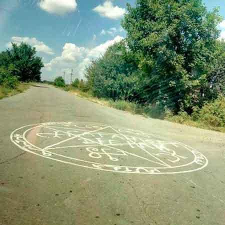 Сатанисти малюють таємні знаки на Тальнівщині