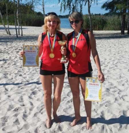 На Канівщині відбувся відкритий турнір з пляжного волейболу серед жінок