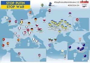 60 міст світу завтра вийдуть на міжнародну акцію #StopPutinsWarInUkraine
