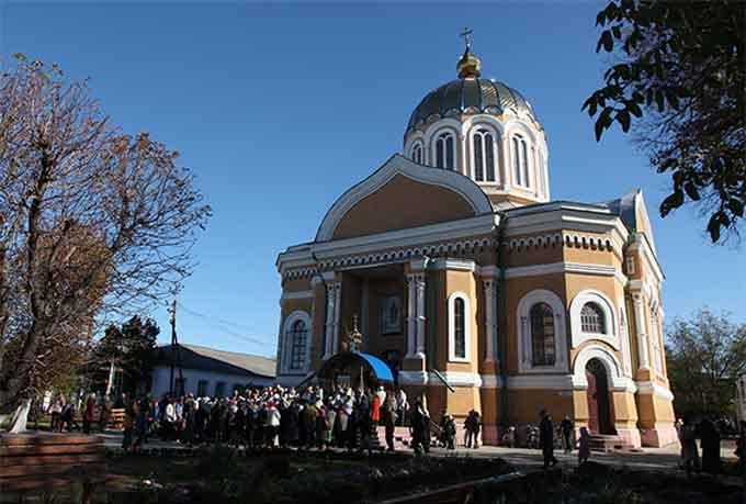 У Покровському соборі Сміли – храмове свято