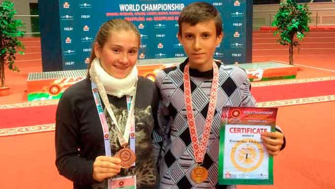 14-річна студентка Черкаського державного бізнес-коледжу стала призеркою Чемпіонату світу