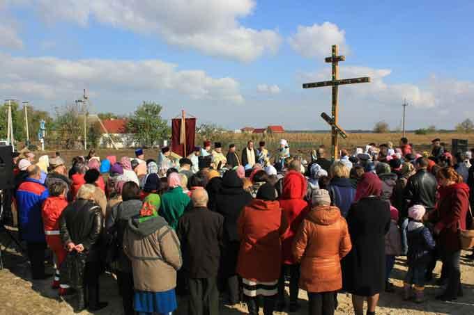 У селі Білозір'я на Черкащині започатковано будівництво храму Покрови Пресвятої Богородиці