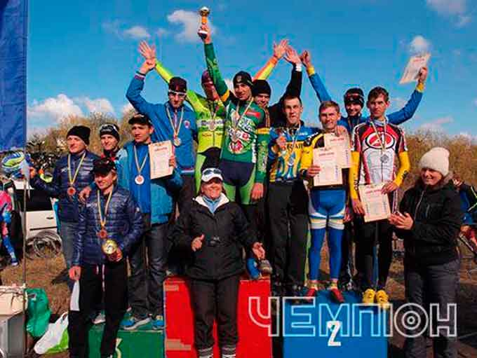 Черкаські велосипедисти повернулися зі «сріблом» чемпіонату України