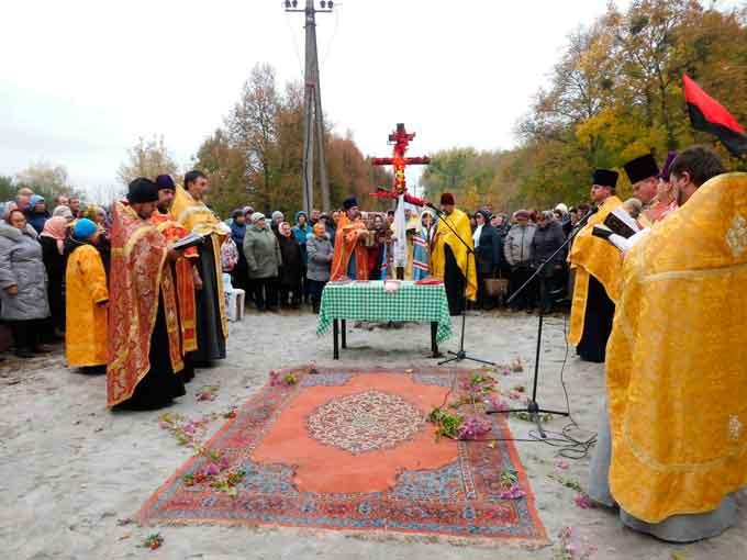 У Жашкові збудують храм на честь святого великомученика Димитрія Солунського