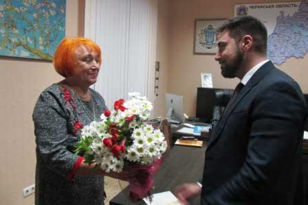 Керівницю Корсунського заповідника відзначили президентською нагородою