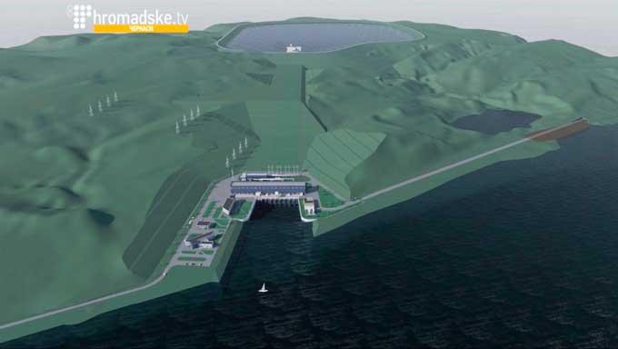 Активісти пікетуватимуть Кабмін через ідею будівництва Канівської ГАЕС