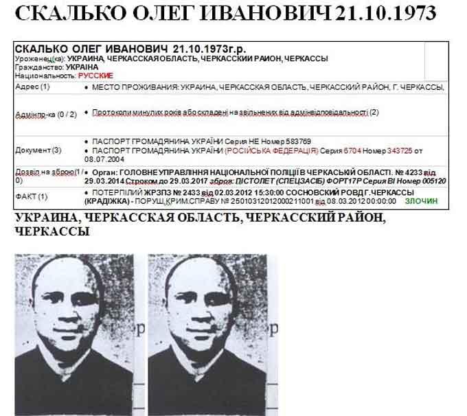 Голова Черкаської «Самооборони» має подвійне громадянство?
