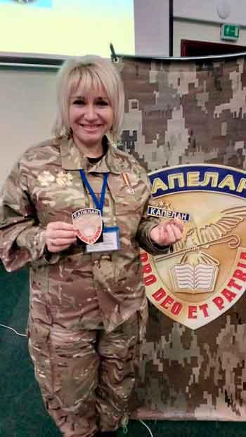 На Черкащині з'явилась перша жінка-військовий капелан