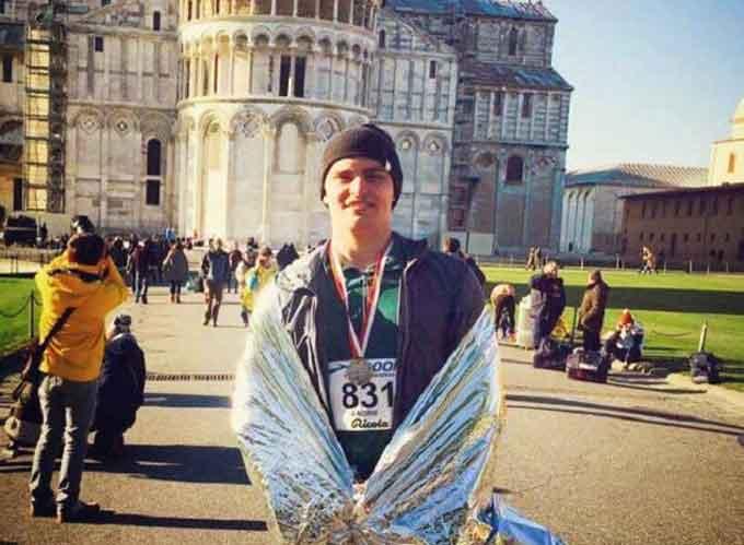 Уманчанин пробіг міжнародний марафон у Пізі
