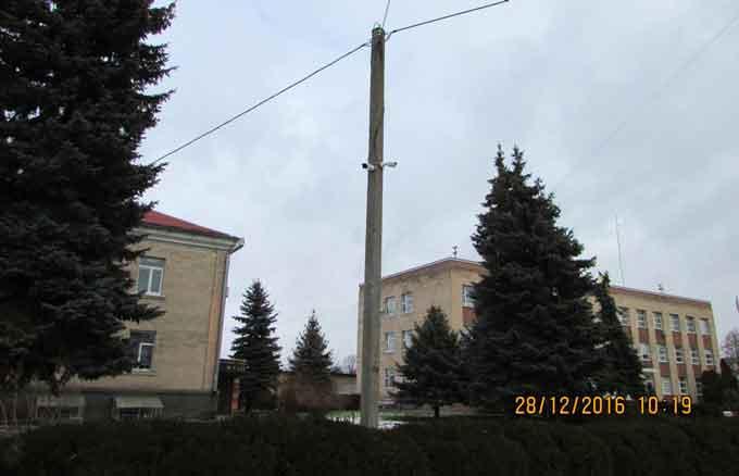 У Шполі встановлюють камери відеоспостереження