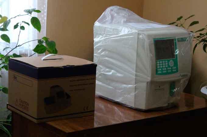 Юрківська амбулаторія отримала гематологічний аналізатор та аналізатор сечі