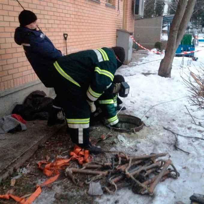 У Шполі в нечистотах потонули двоє чоловіків