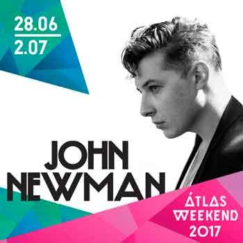 John Newman – перший хедлайнер Atlas Weekend 2017