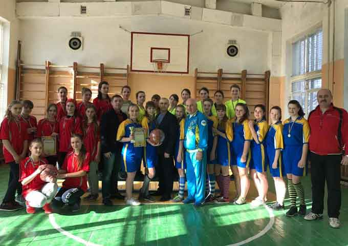 На Смілянщині відбулися змагання з баскетболу