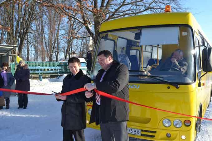 Громада Будища отримала новий шкільний автобус