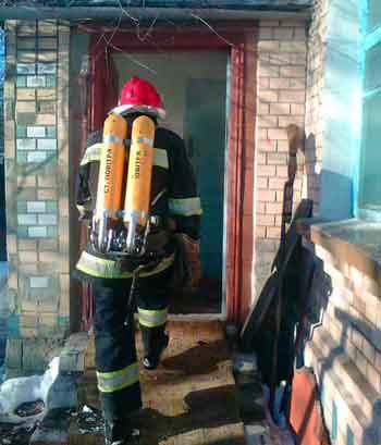 В Лисянці під час пожежі в будинку загинула людина