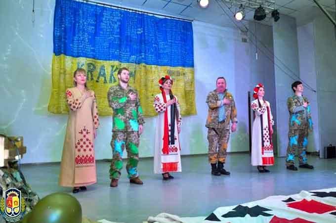В УДПУ відбулась вистава «Блокпост Україна» київського театру «Дзеркало»