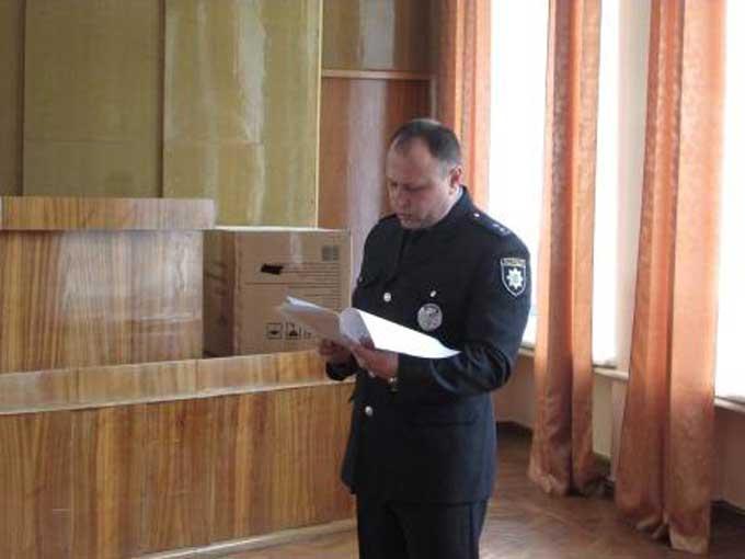 Шполянська райрада не прийняла звіт начальника поліції та дала йому час для виправлення ситуації