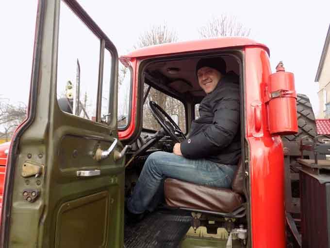 В Кам'янському районі придбано автомобіль для сільської пожежної команди