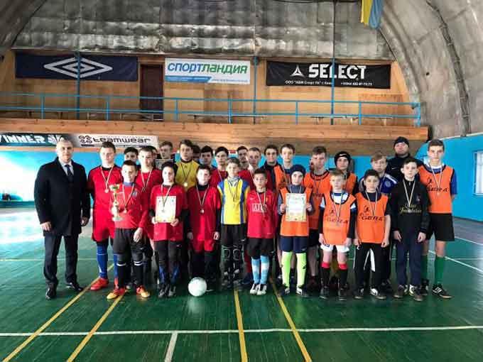 На Смілянщині відбувся турнір з міні-футболу