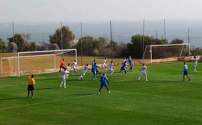 «Черкасский Днепр» продолжил победную серию на сборах на Кипре