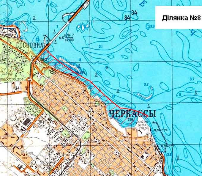 Де можна ловити рибу на Кременчуцькому водосховищі?