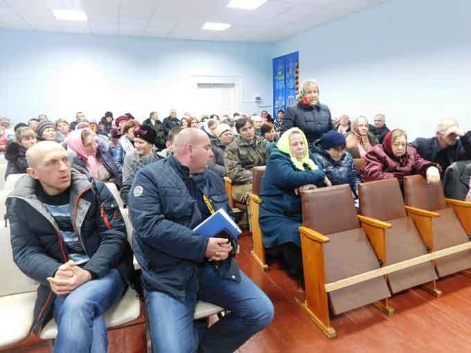 Голова Чорнобаївської РДА побував у Веселому Хуторі