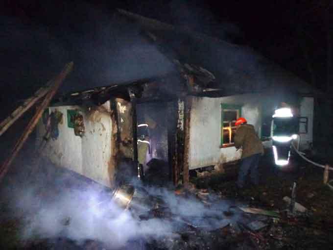 В Кам'янці на пожежі загинула людина