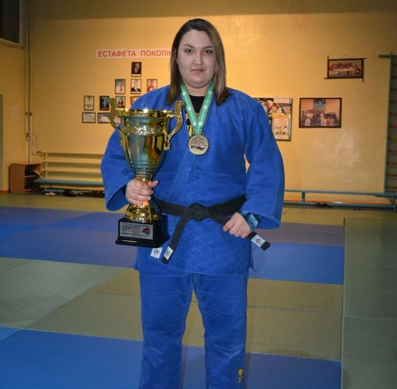 Черкаська дзюдоїстка завоювала «бронзу» міжнародного турніру