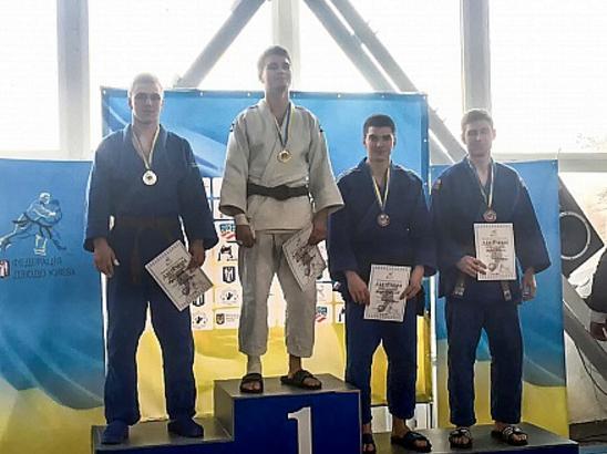 Курсант ЧІПБ став призером Відкритого чемпіонату з дзюдо