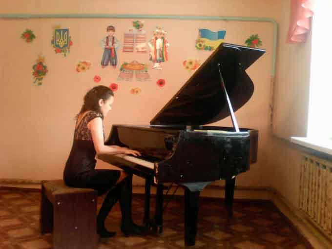 В Мошнах ожив рояль