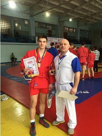 Курсант ЧІПБ зайняв перше місце на Міжнародному турнірі з самбо