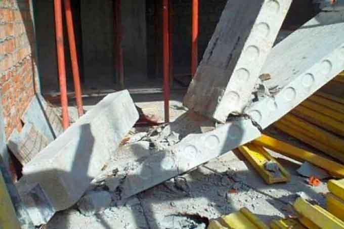 На підлітка з недобудови в м. Корсунь-Шевченківський впала бетонна плита