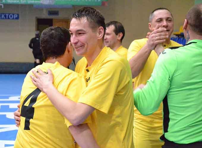 У Черкасах фінішував Чемпіонат області з футзалу серед ветеранів