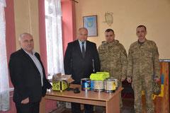 Жашківська влада допомогла військовим
