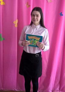 Смілянська школярка поділилися враженнями від гри «Країна Гідності»