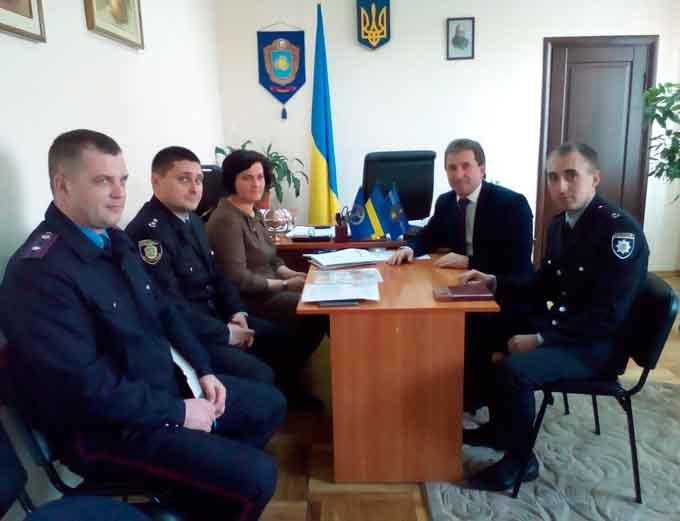 Нові аспекти співпраці служби зайнятості Черкащини та Національної поліції