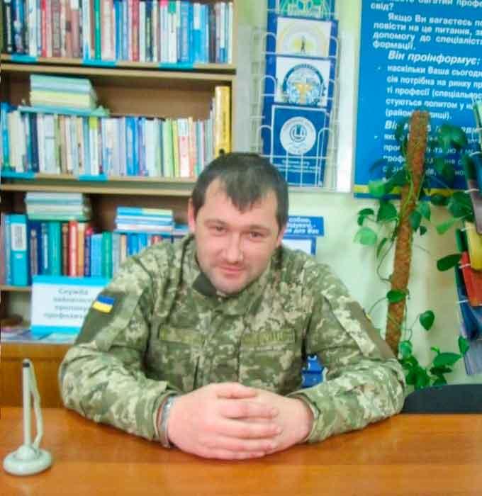 Учасник АТО з Жашківщини здобув мирну професію токаря