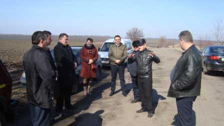 На Монастирищині владці перевіряють ремонт доріг