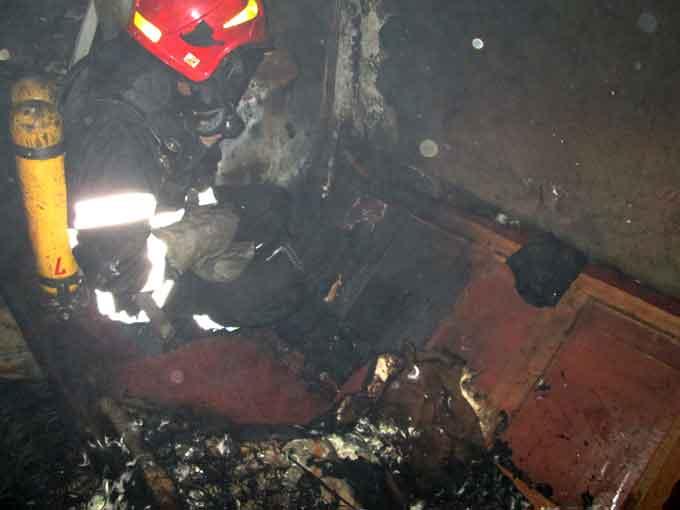 За добу на Черкащині під час пожеж загинуло троє людей
