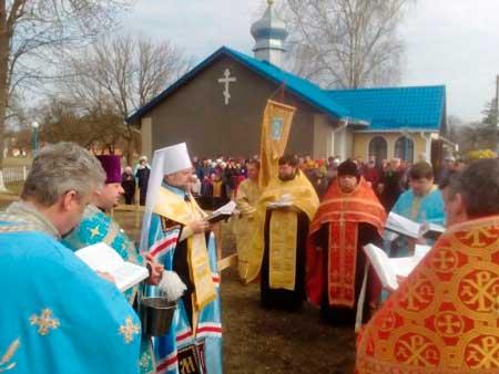 На Жашківщині зведуть новий храм