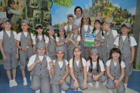 Хореографічний колектив музичної школи «Асорті» під керівництвом Тетяни Штойка